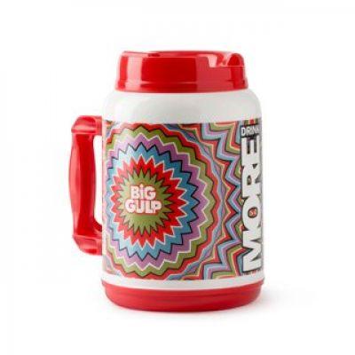 7-Eleven Big Gulp Foam Insulated Travel Mug (52 oz , Red