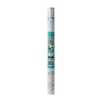 Grey Quatrefoil 284138 Duck Brand Deco Adhesive Laminate Shelf Liner 20 Inches x 12 Feet