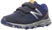 New Balance Boys' KE690V2 Running Shoes, Blue/Grey, 2 M US Little Kid