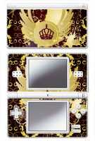 Royal Crown Skin For Nintendo Ds Lite Console