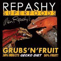 Repashy Grubs 'N' Fruit Crested Gecko Diet - All Sizes 12 Oz (3/4 lb) 340g JAR