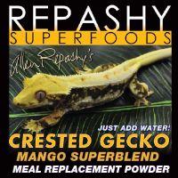 Repashy Crested Gecko MRP Diet - Food 'Mango' Superblend - All Sizes 12 Oz (3/4 lb) 340g JAR